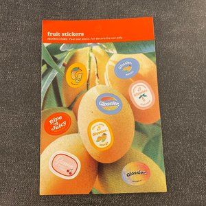 💕 [NWT] Glossier Fruit Stickers